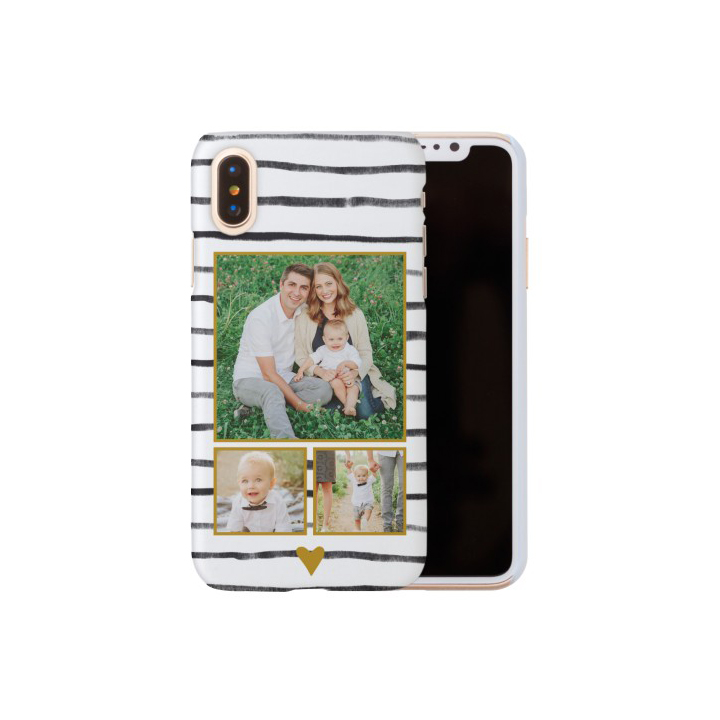 Organic Love Stripes iPhone Case