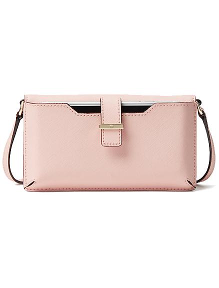 iPhone Crossbody in Pink Sunset