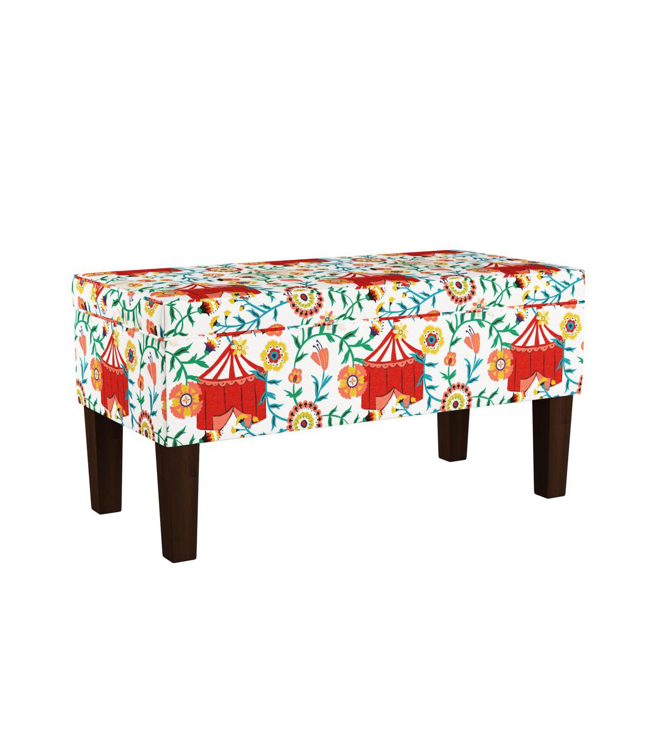 Iris Apfel Storage Bench