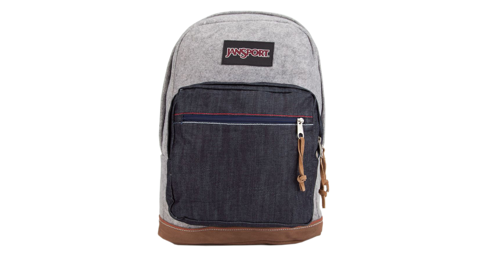 Jansport Right Pack Grey Varsity Felt