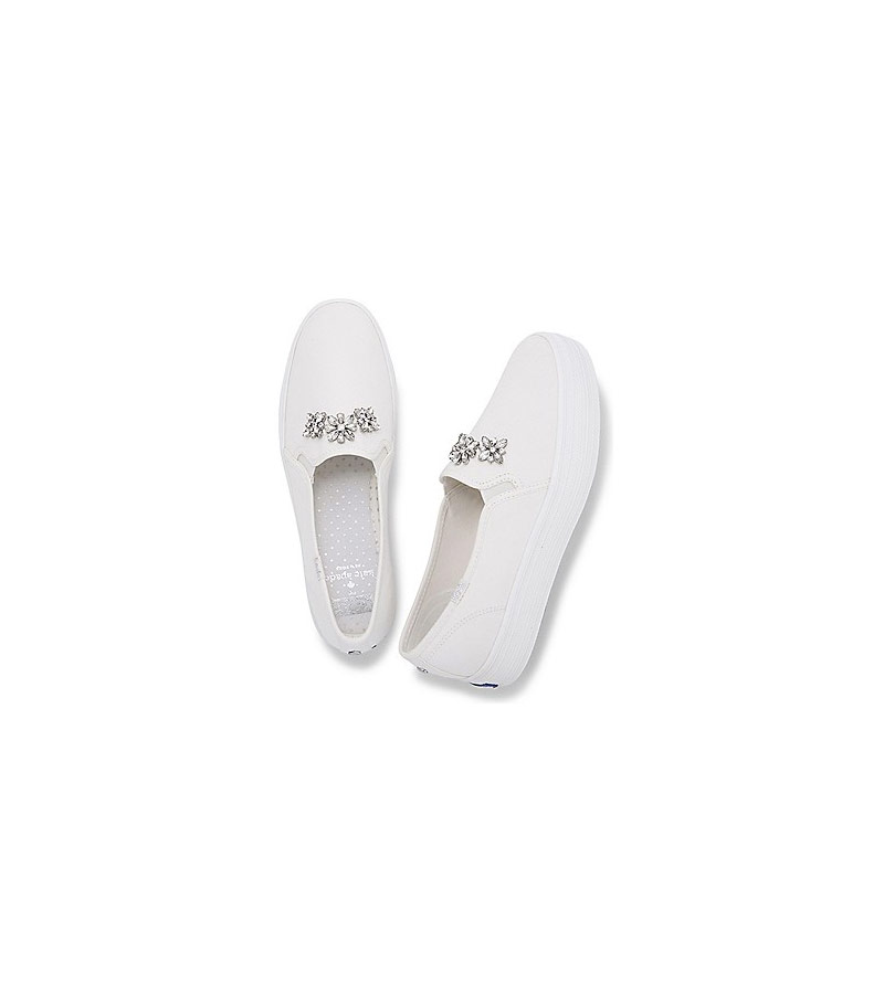 b7ccf7c2a8c4 Keds and Kate Spade Launch Dreamy Line of Wedding Sneakers