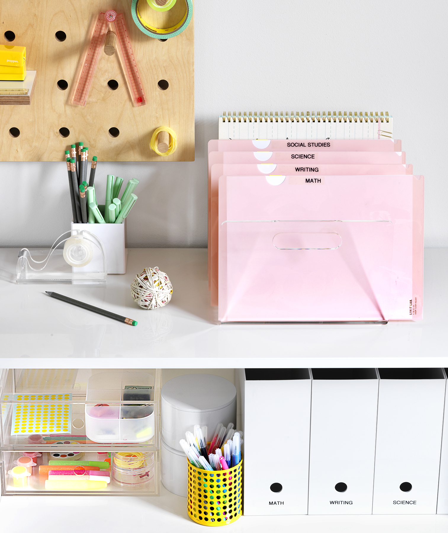 The Science Of Getting Kids Organized >> 5 Ways To Streamline A Kids Desk Real Simple