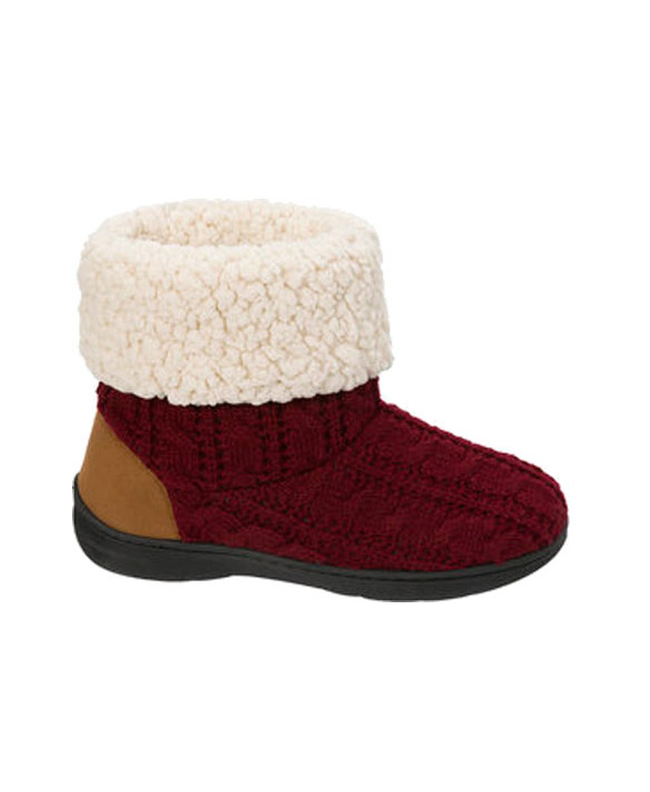 Dearfoams Knit Boot Slipper