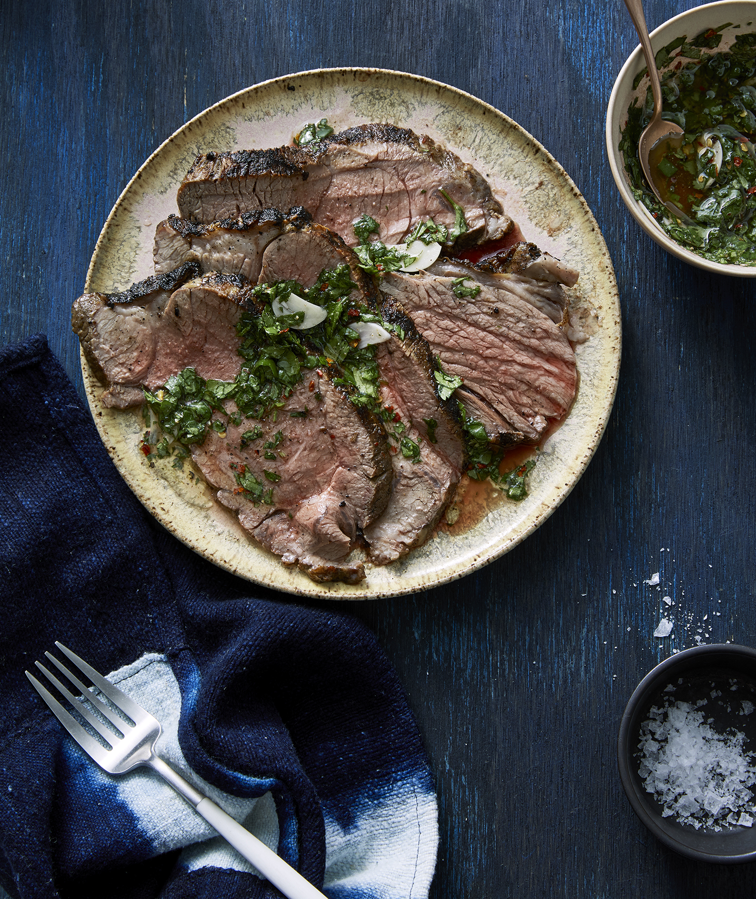 Spice-Rubbed Lamb Steak