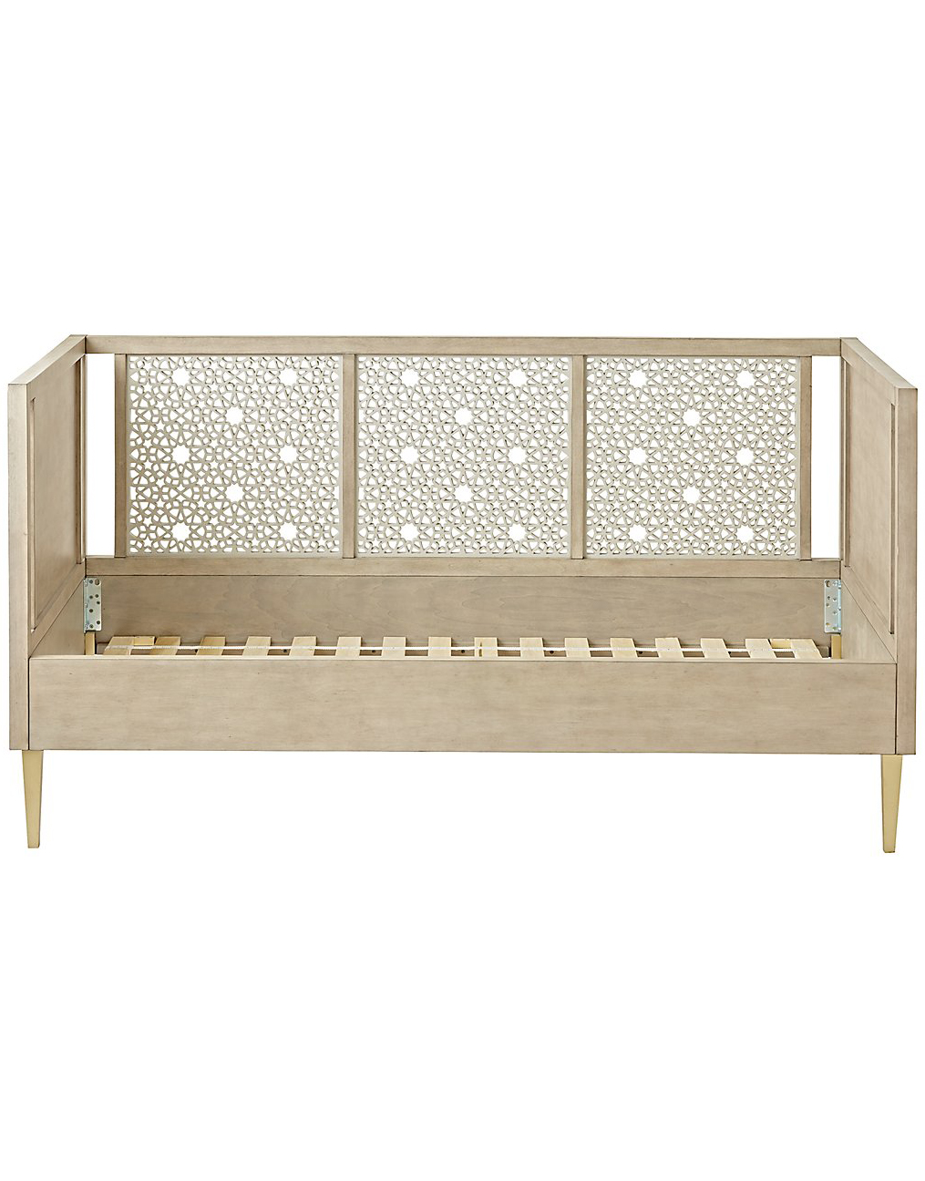 Latticework Grey Daybed