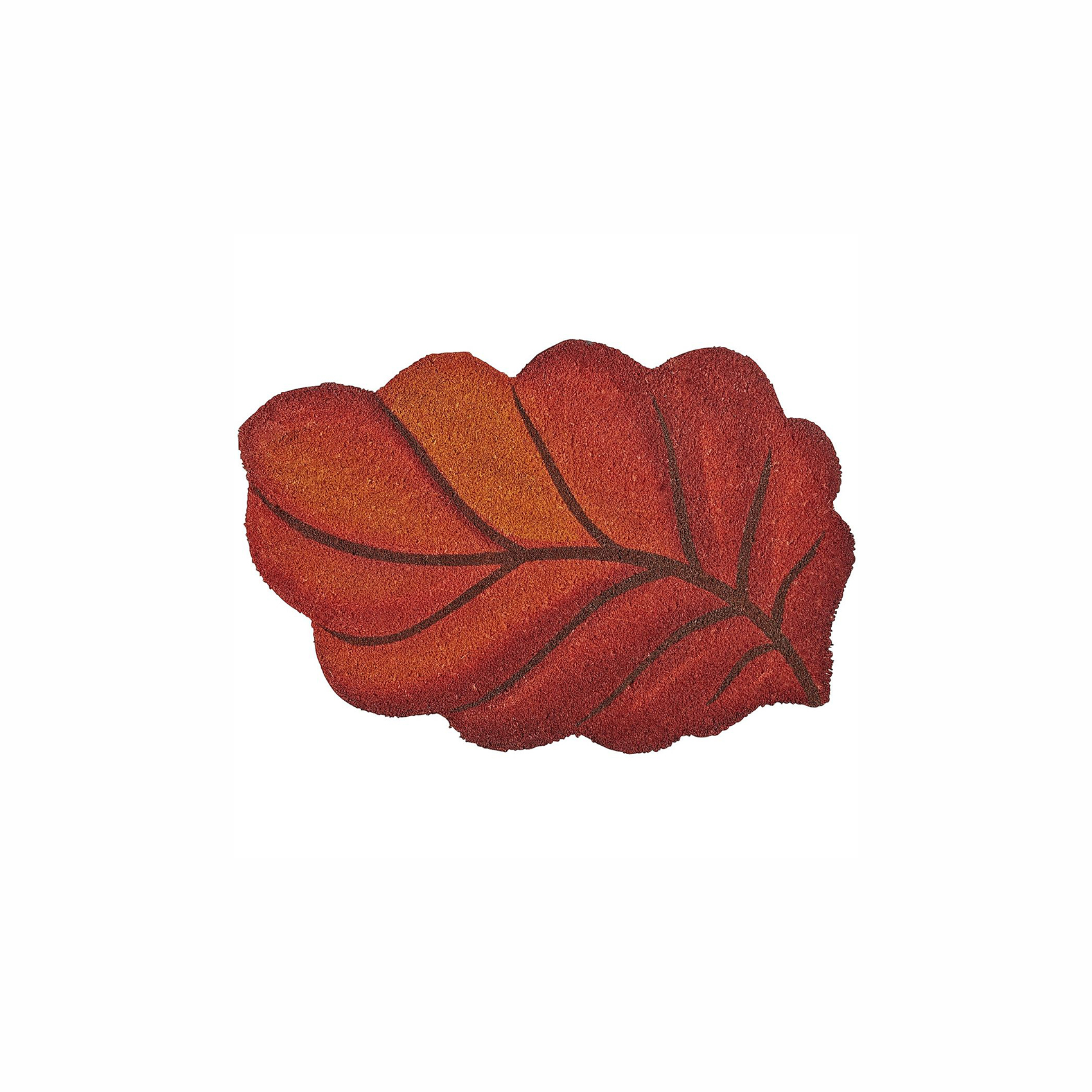 Leaf-Shaped Doormat