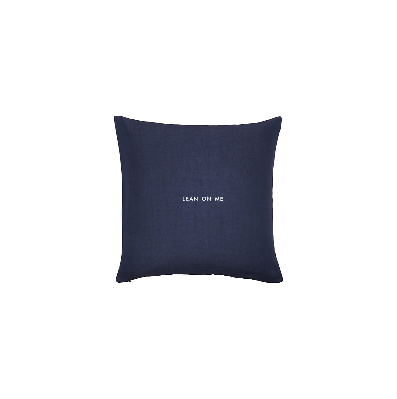 """Lean on Me"" Idiom Pillow"