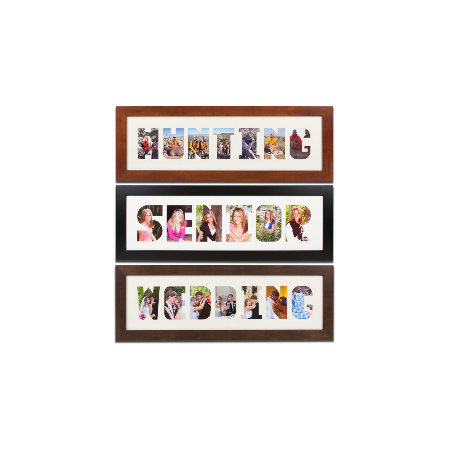 Collage Frame Wordmat Picture Frame