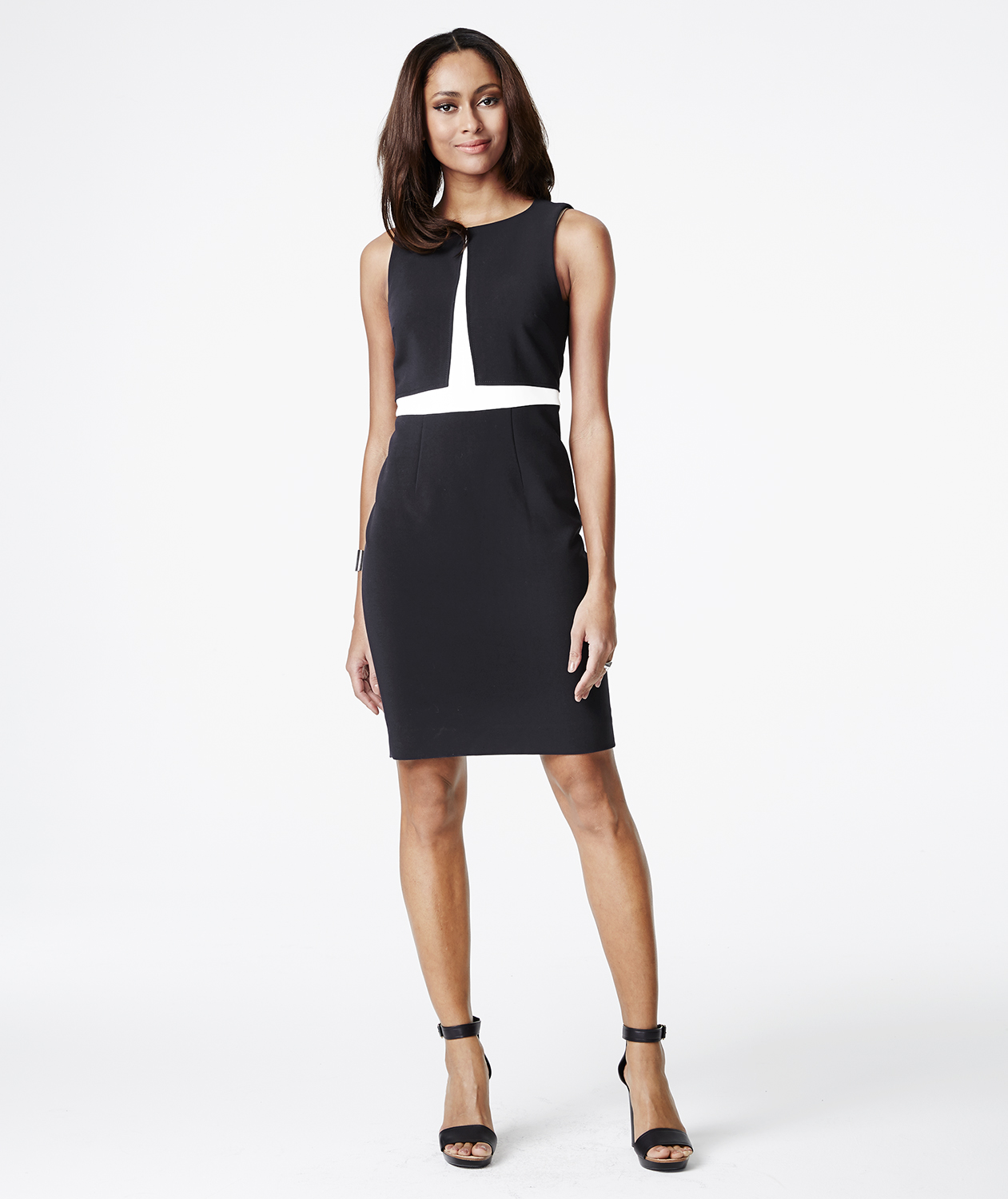 5252e39cd92 The Limited Colorblocked Sheath Dress