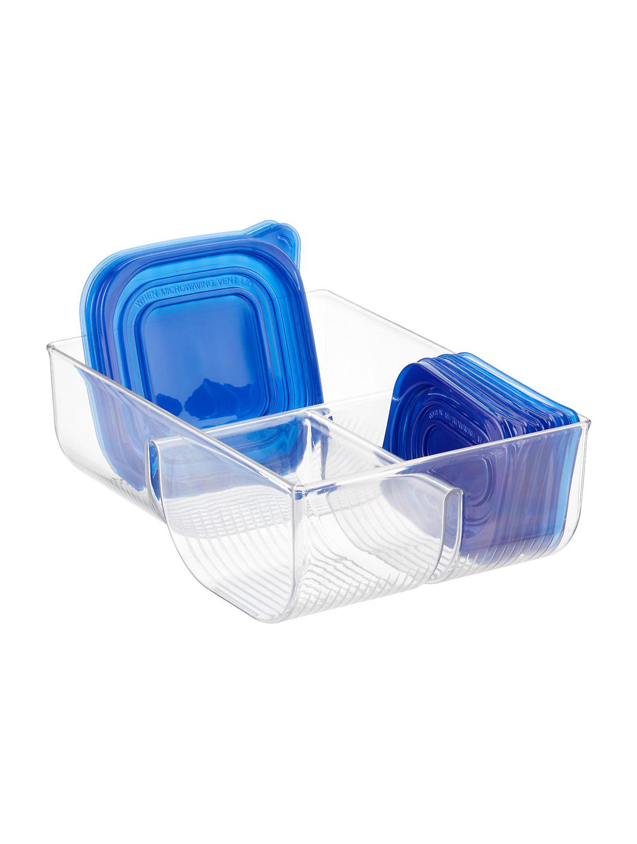 Food Container Lid Organizer