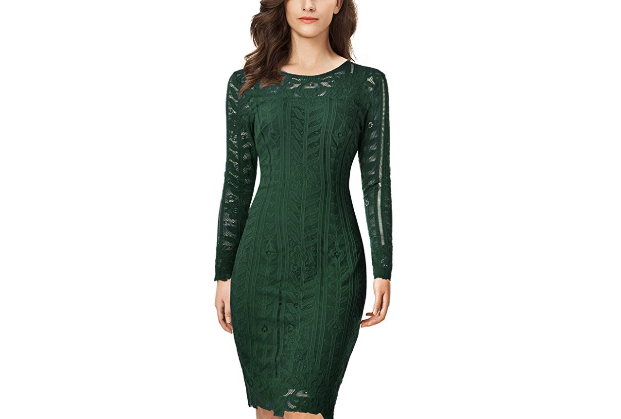 12 Super Chic Holiday Dresses You Can Buy on Amazon