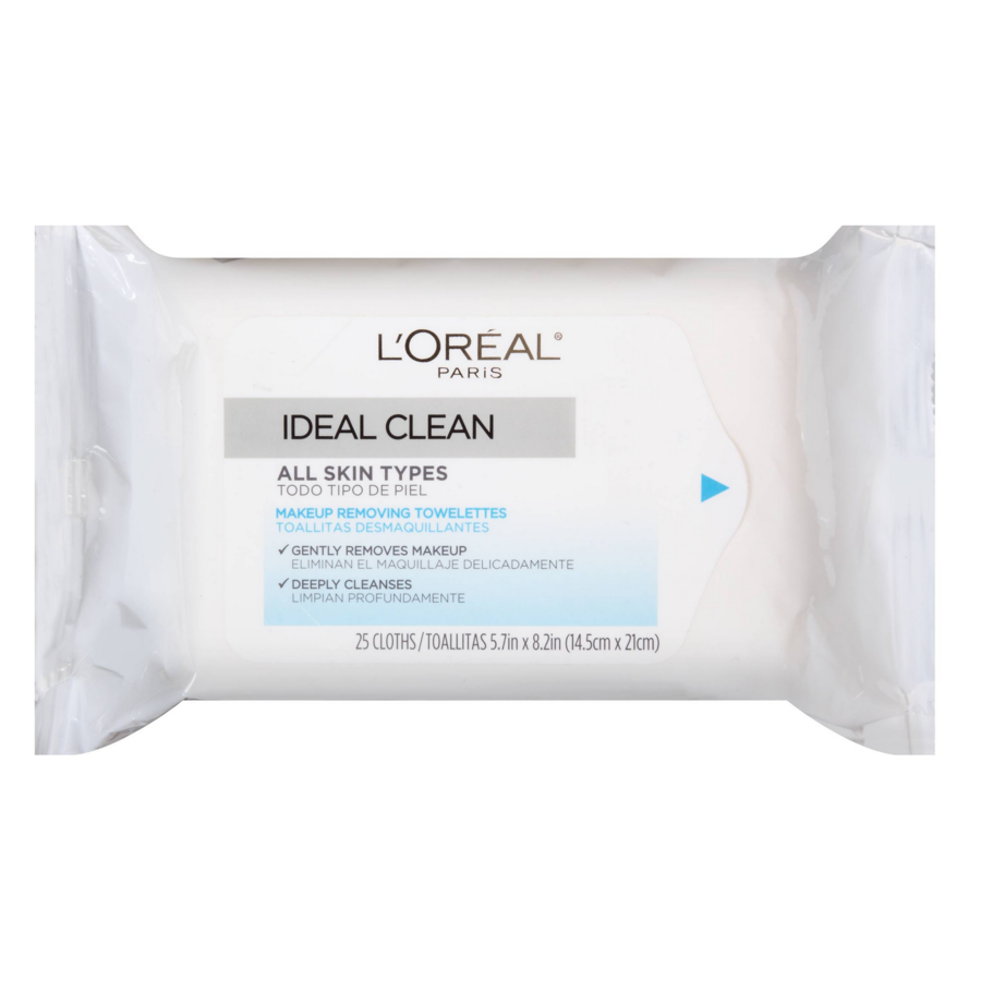 L'Oreal Ideal Clean Makeup Removing Towelettes