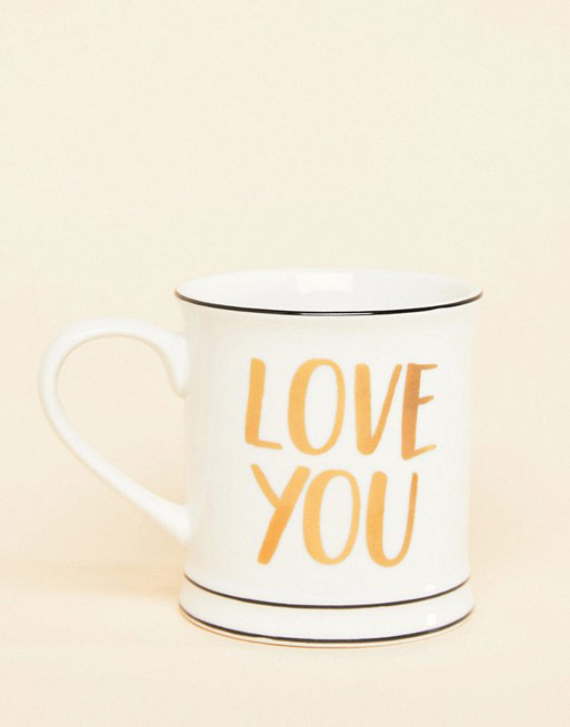 Sass & Belle Love You Valentines Mug