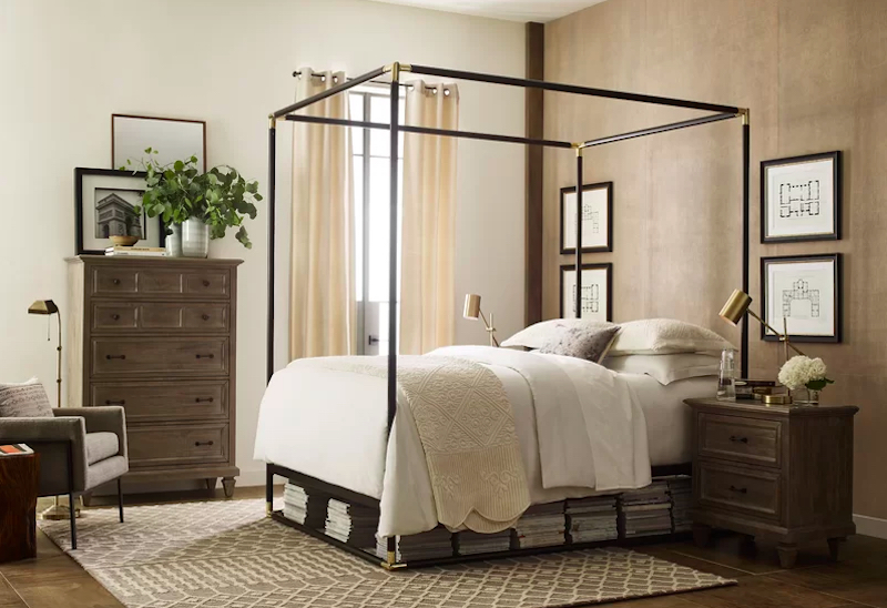 Luxe Decor for Less Bedroom