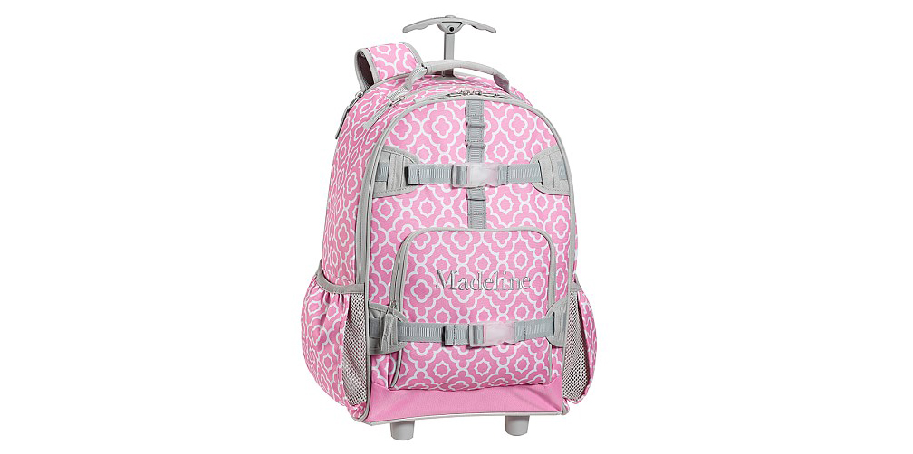 Pottery Barn Kids Mackenzie Pink Geo Backpack