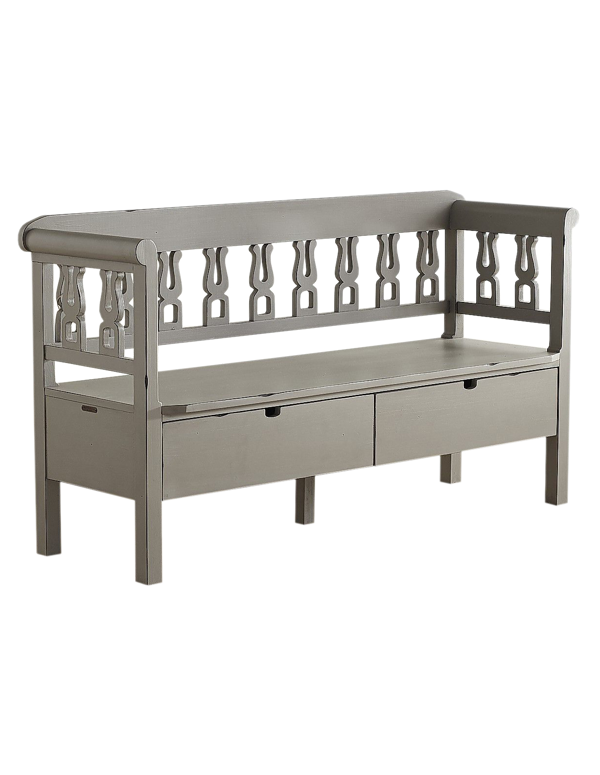 Magnolia Home Dove Gray Hall Bench