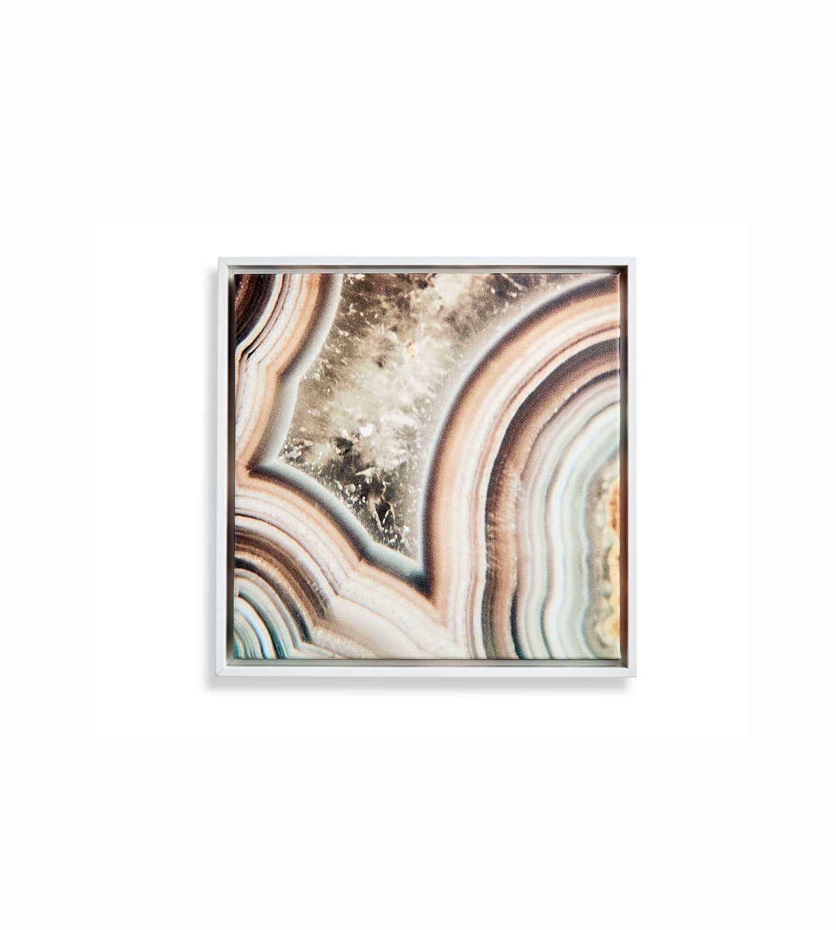 Mandy Moore Collection Geode Canvas Print