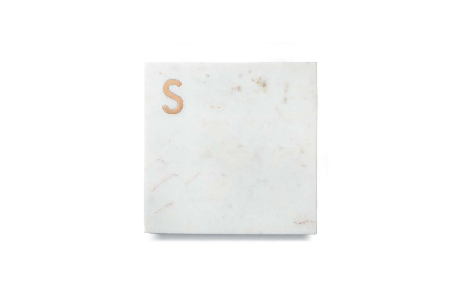 Marble & Copper Monogram Boards (The Best of Williams Sonoma Holiday)