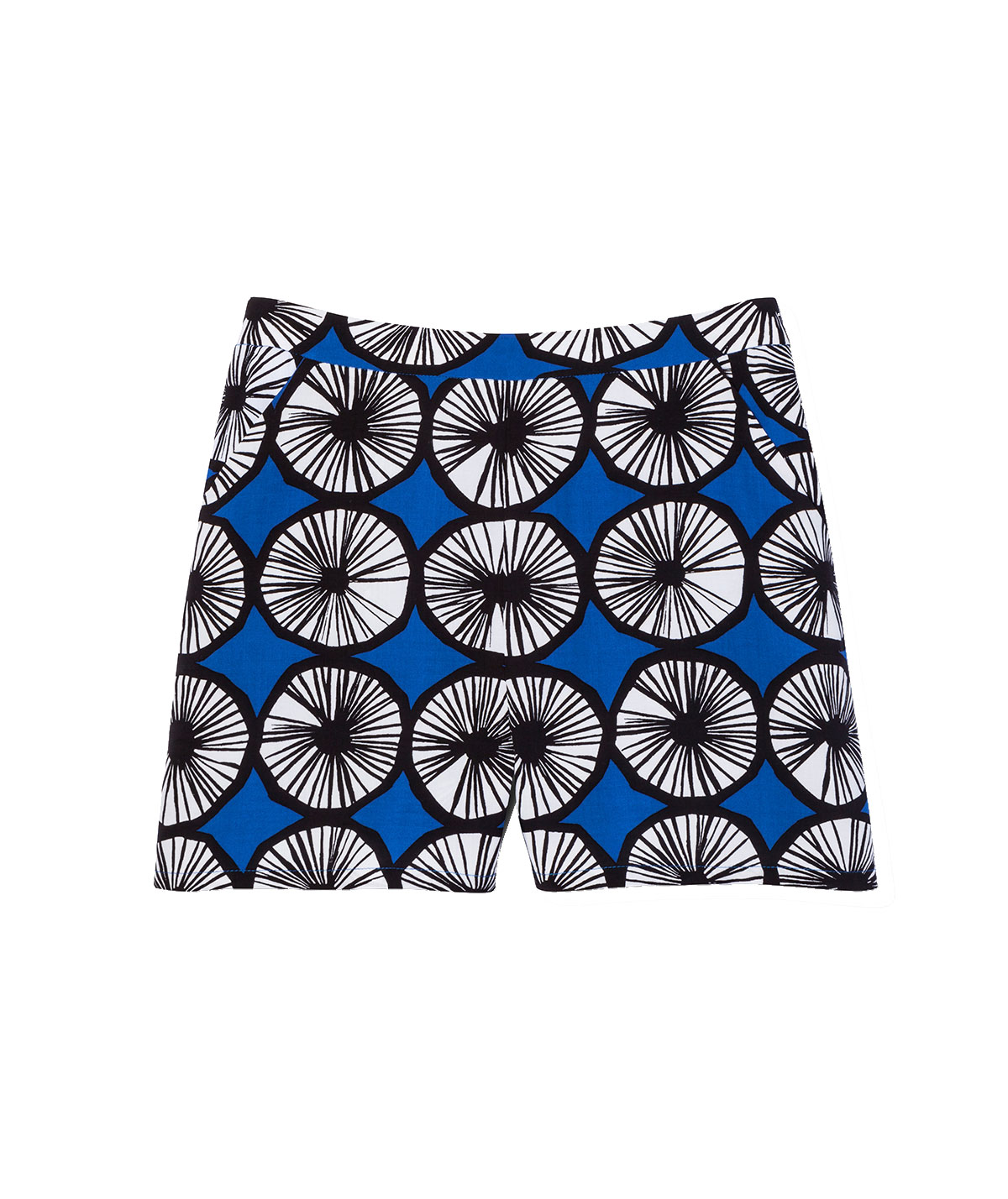 Short in Appelsiini Print