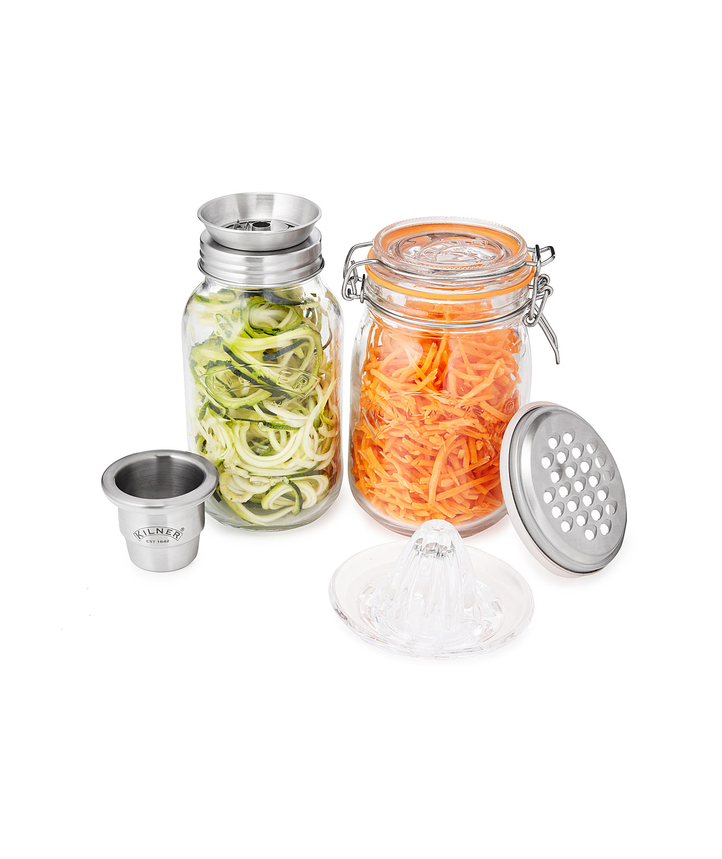 Mason Jars With Multi-Use Lids