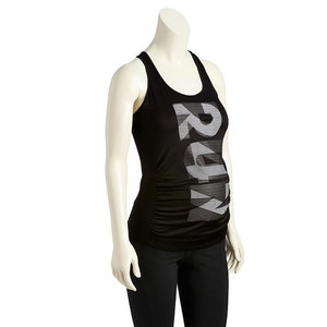 Maternity Go-Dry Graphic Tank