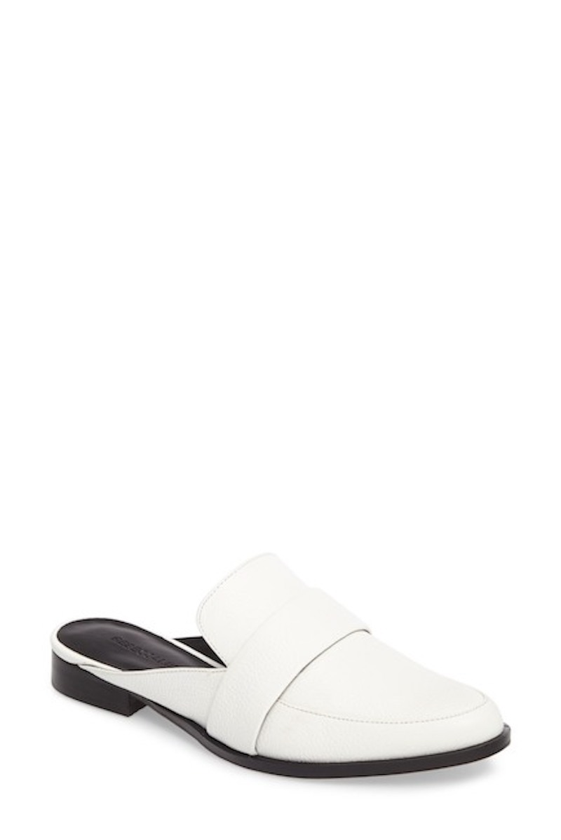 Nordstrom White Mule Shoes