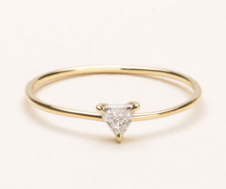 3685a1ea1f2b8 14 Minimalist Engagement Rings That Are Easy to Wear Every Day ...