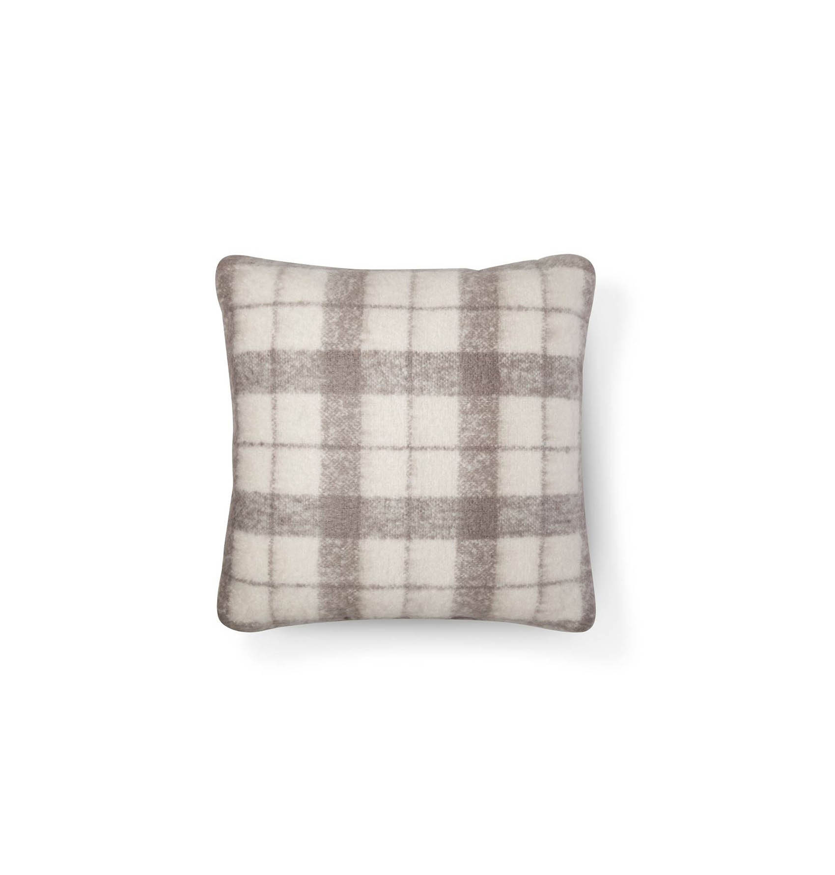Target Mohair Plaid Throw Pillow