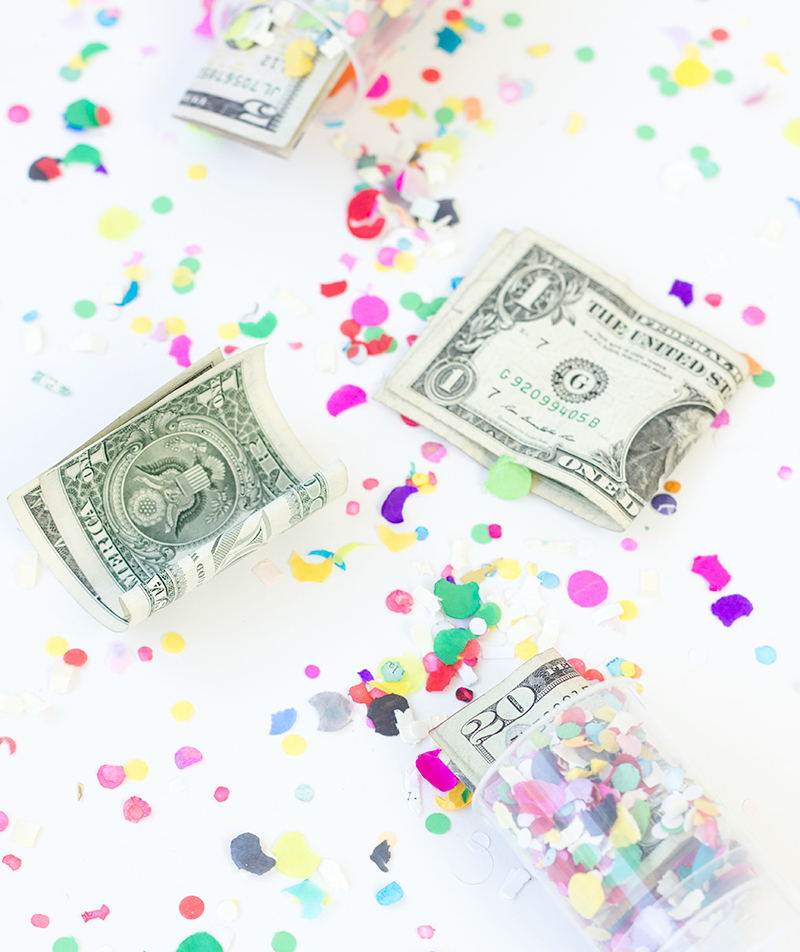 Confetti Money Poppers
