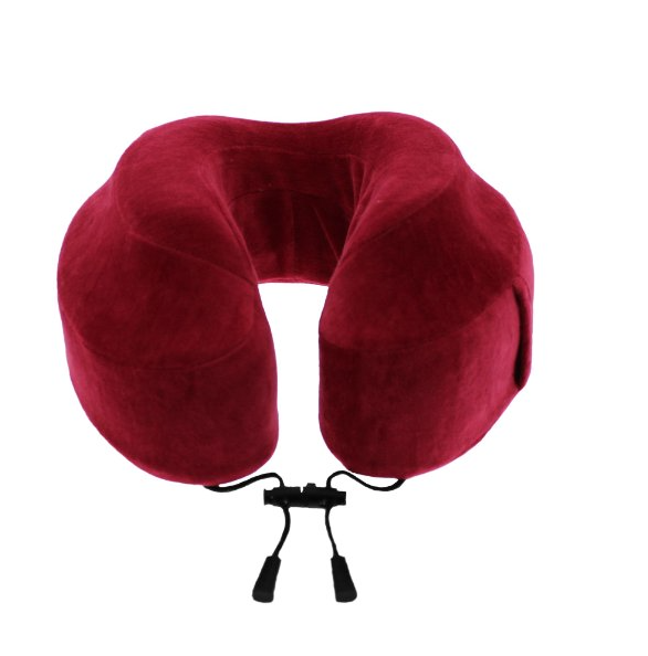 The Evolution Memory Foam Travel Pillow