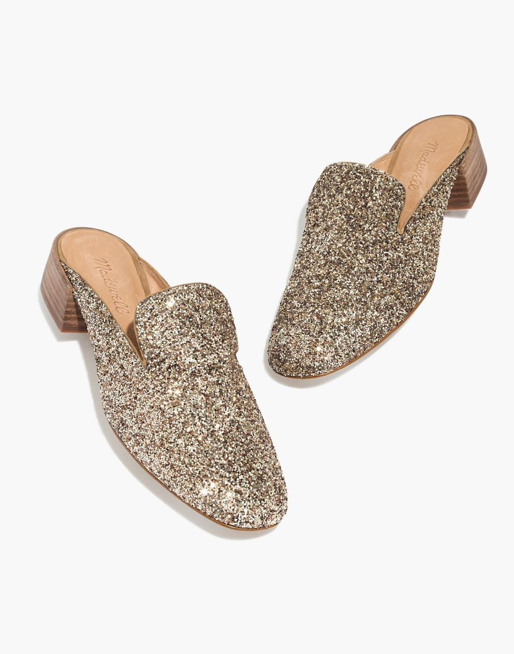 Madewell Glitter Loafer Mule (New Year's Eve Shoes)