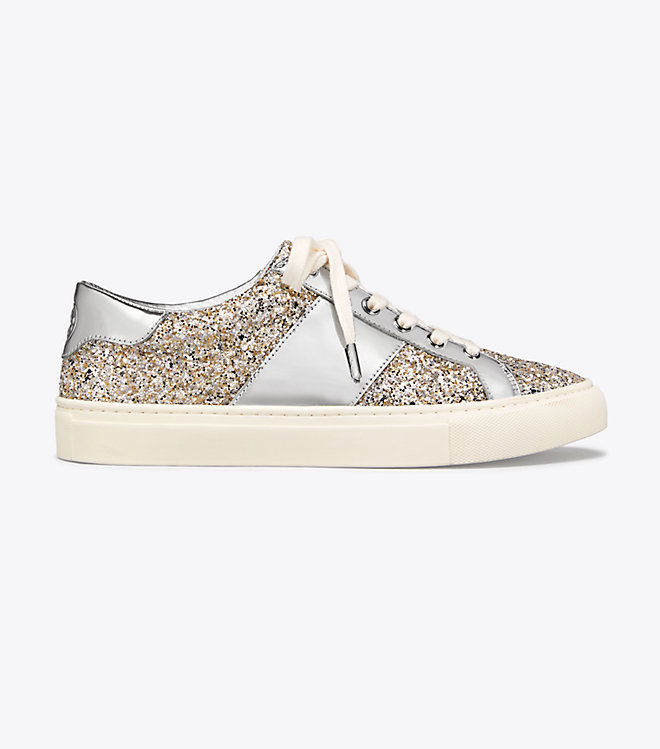 Tory Burch Glitter Sneakers (New Year's Eve Shoes)