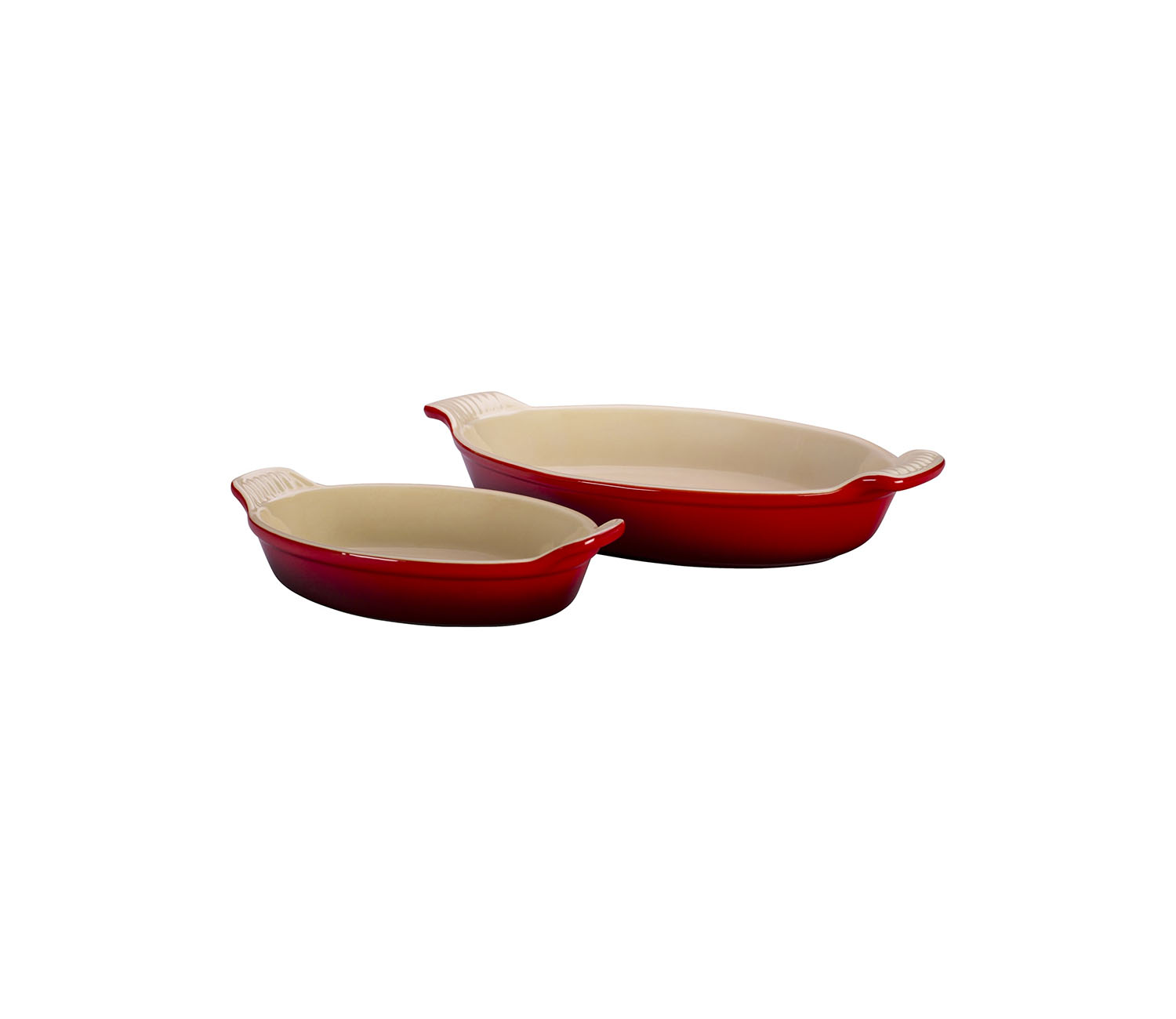 Le Creuset Heritage Oval Au Gratin Dishes, Set of Two