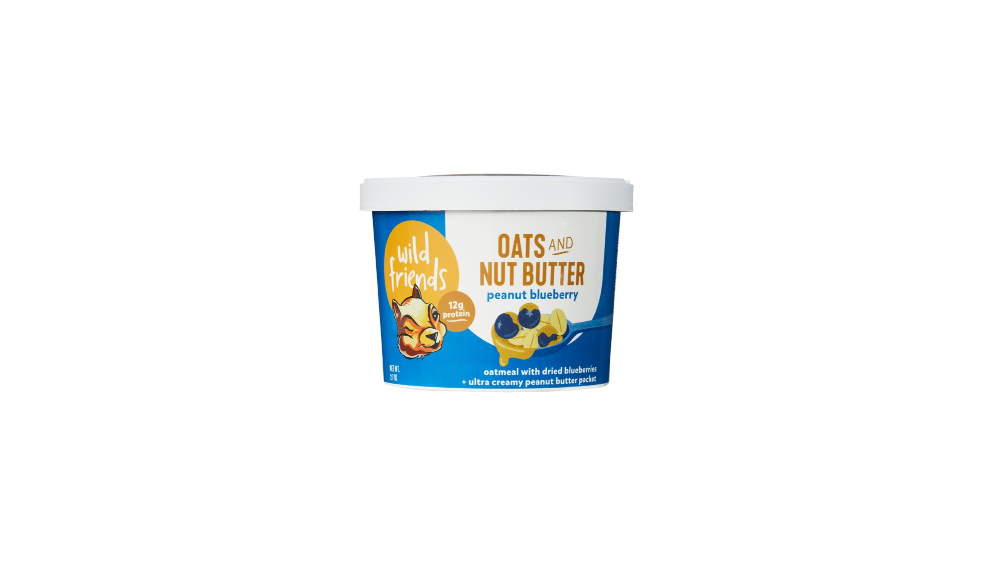 Wild Friends Oats and Nut Butter (0219RTF)