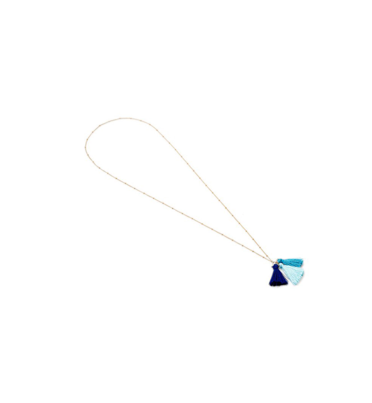 One Kings Lane Tassel Necklace