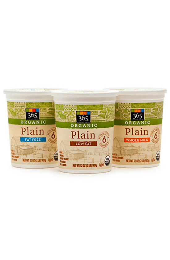 365 Everyday Value Organic Whole Milk Plain Yogurt