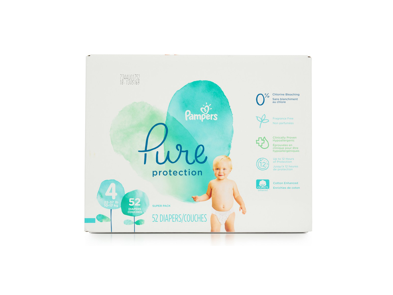 Pampers Pure Protection Diapers (5 Items to Buy From Boxed)