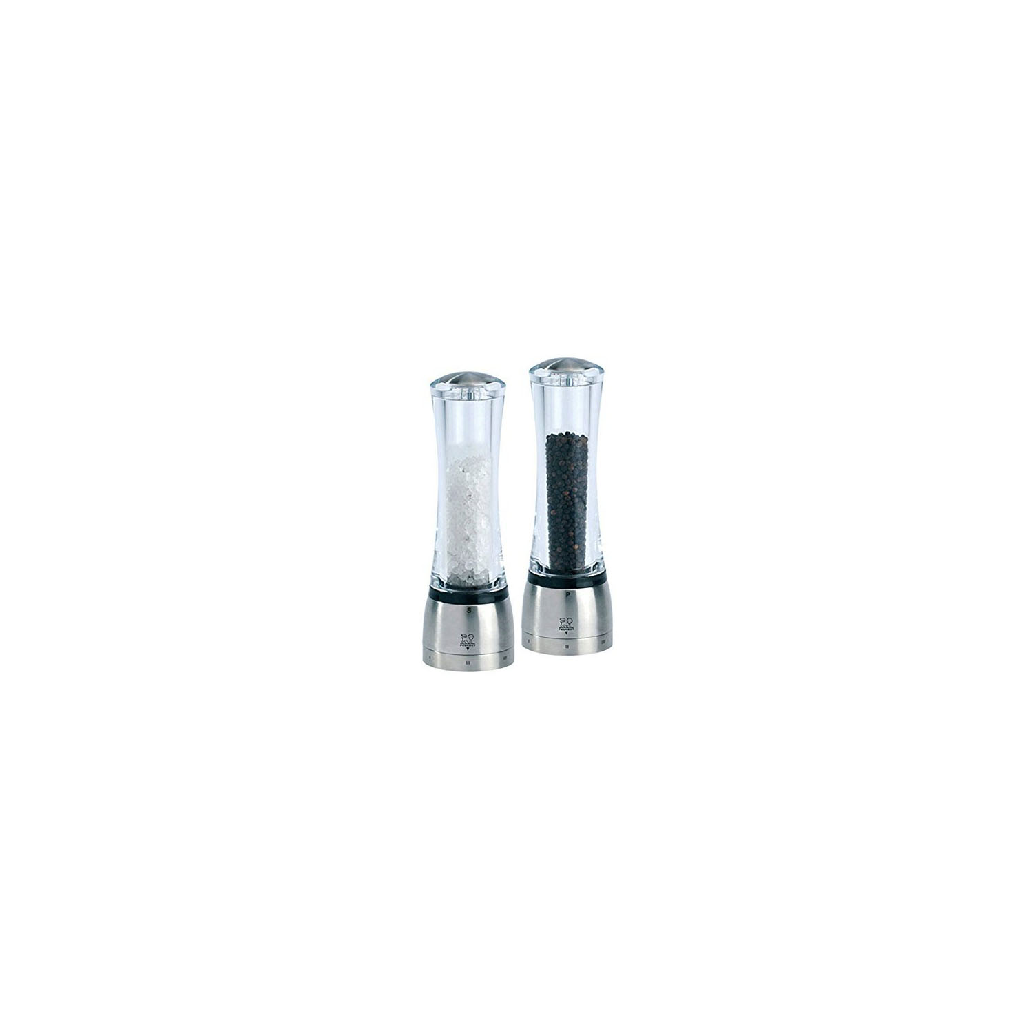 Peugeot Daman 8-inch Acrylic Salt and Pepper Mill