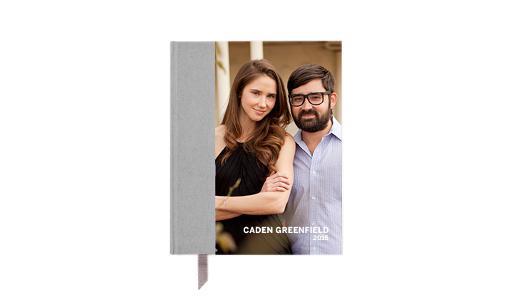 Hardcover Photo Day Planner