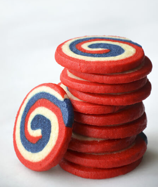 Pinwheel Icebox Cookies