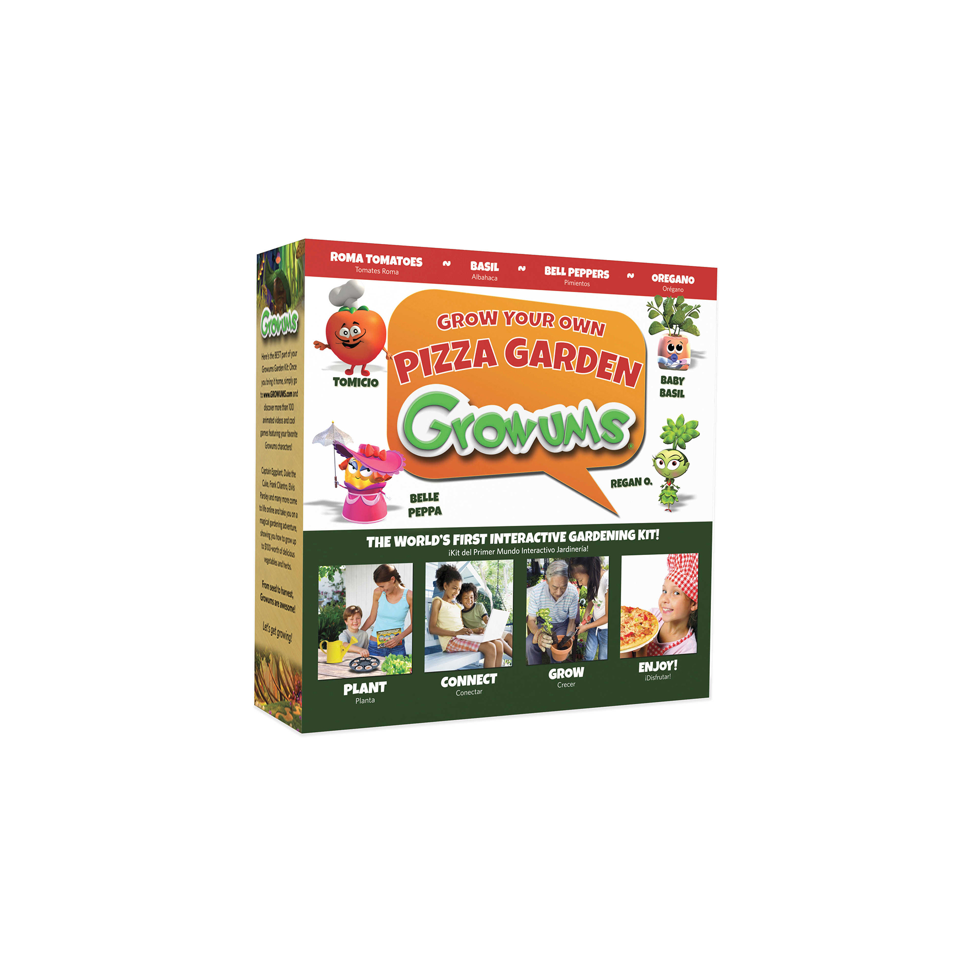 Growums Grow Your Own Pizza Kit
