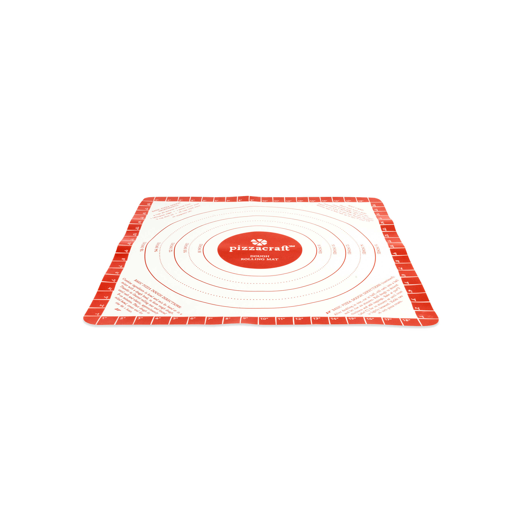 Pizzacraft Silicone Dough Rolling Mat