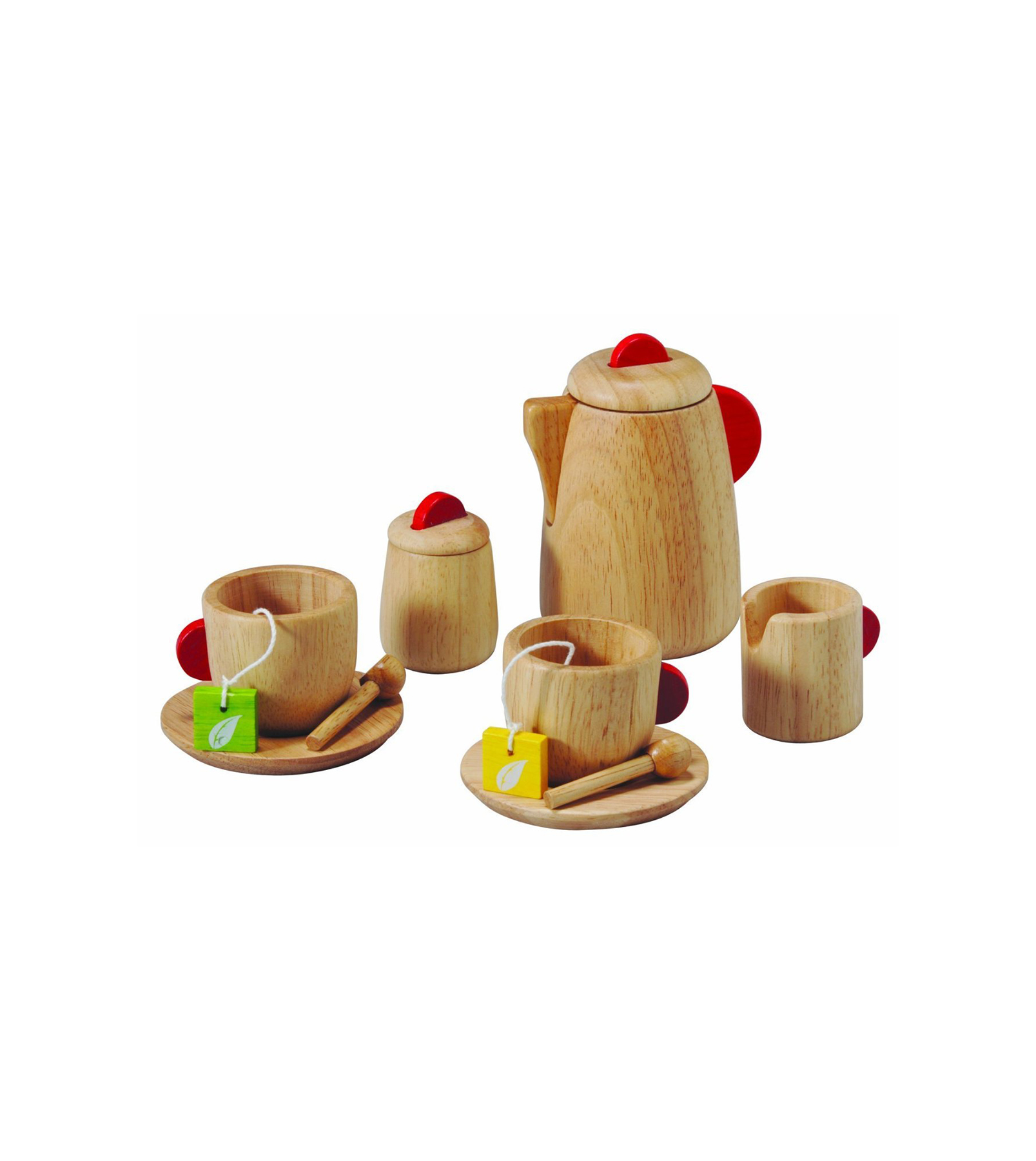 Plan Toys Solid Wood Tea Set
