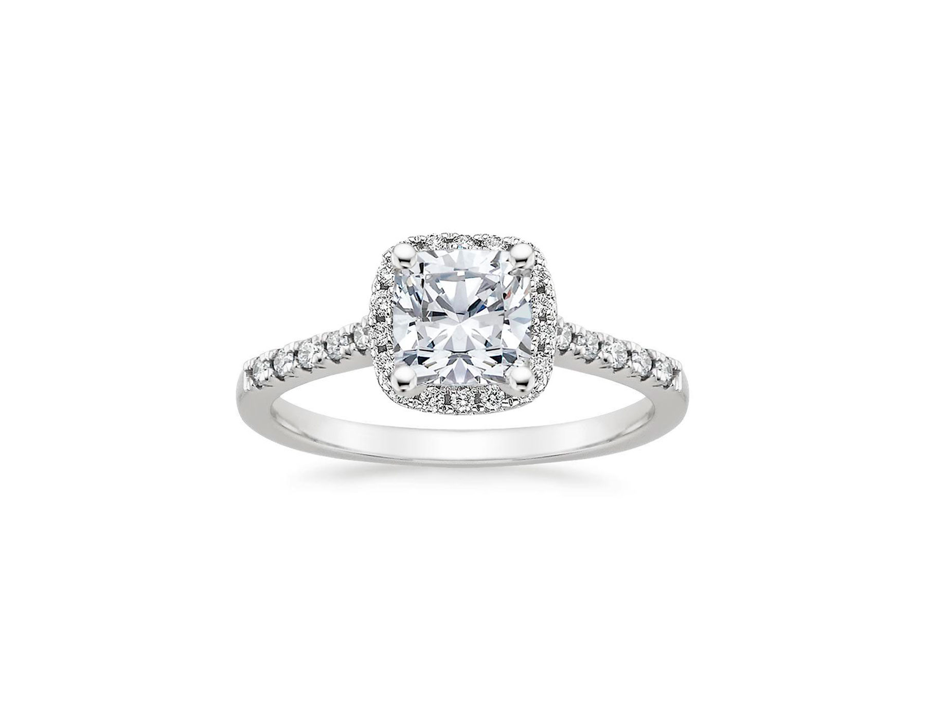 Timeless Diamond Engagement Rings Brilliant Eart Platinum