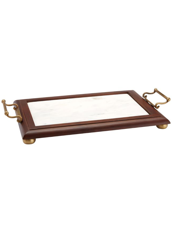 Plaza Entertaining Marble Tray