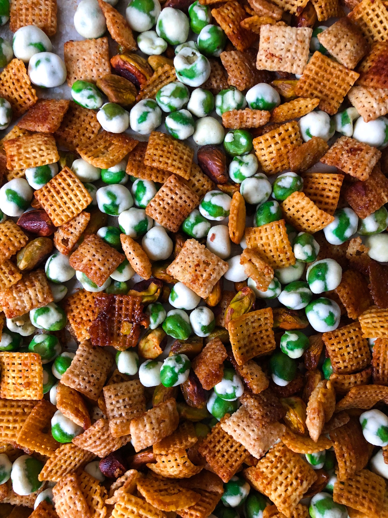 St Patrick's Day Snacks, Pot of Gold Chex Mix
