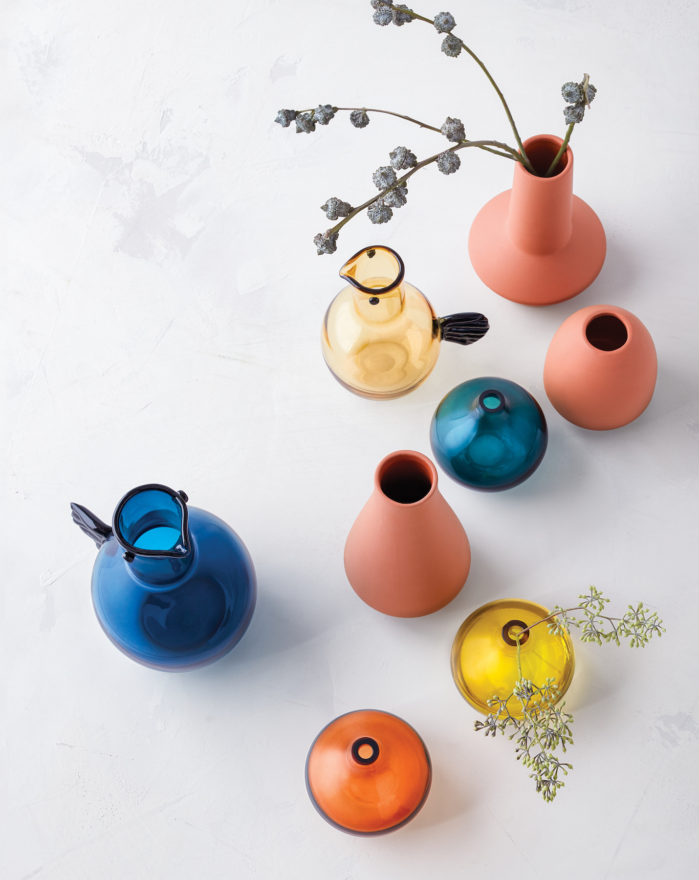 Colorful Project62 Vases