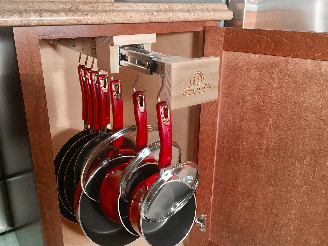 Pull Out Kitchen Cabinet Organizer