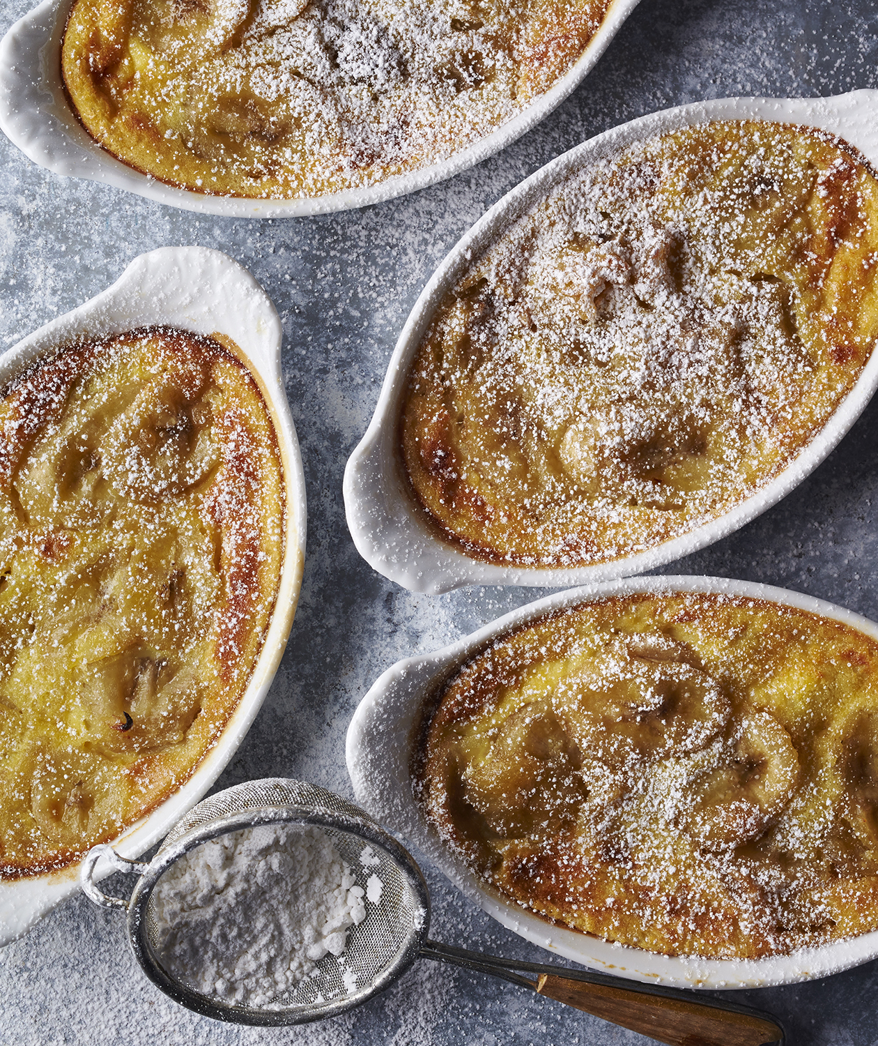 Caramelized Banana Clafoutis