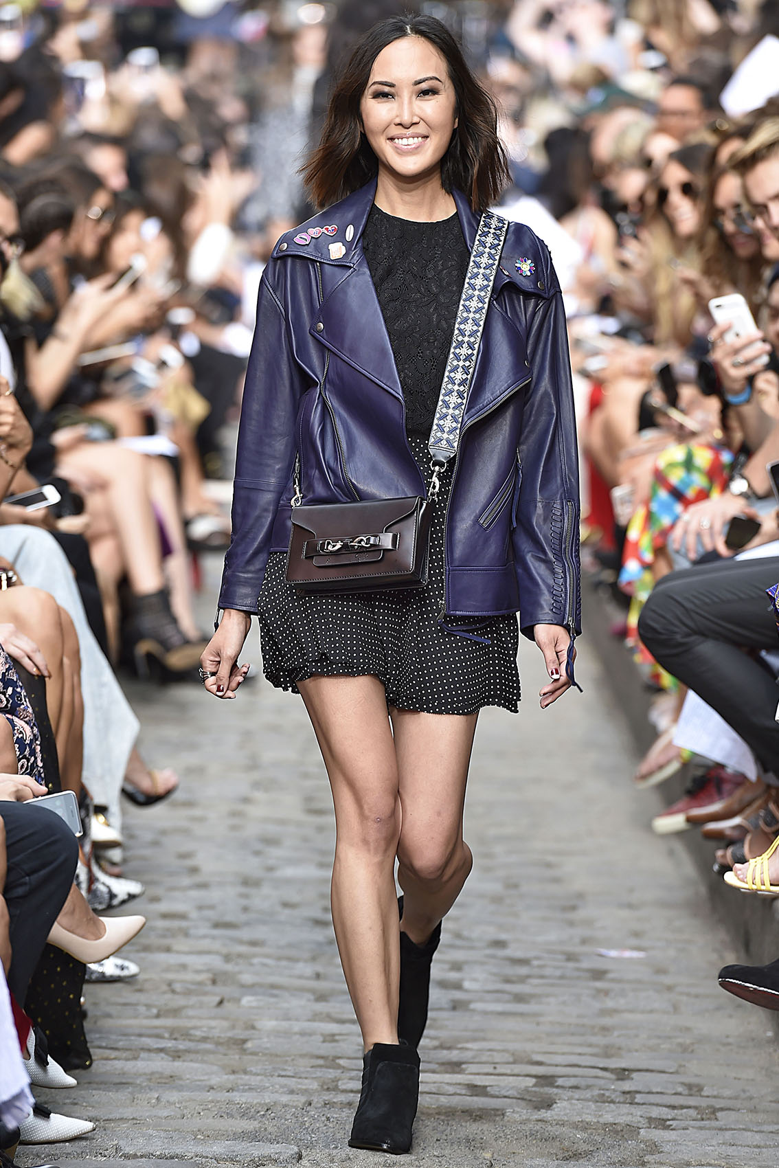 Rebecca Minkoff Runway Model during New York Fashion Week